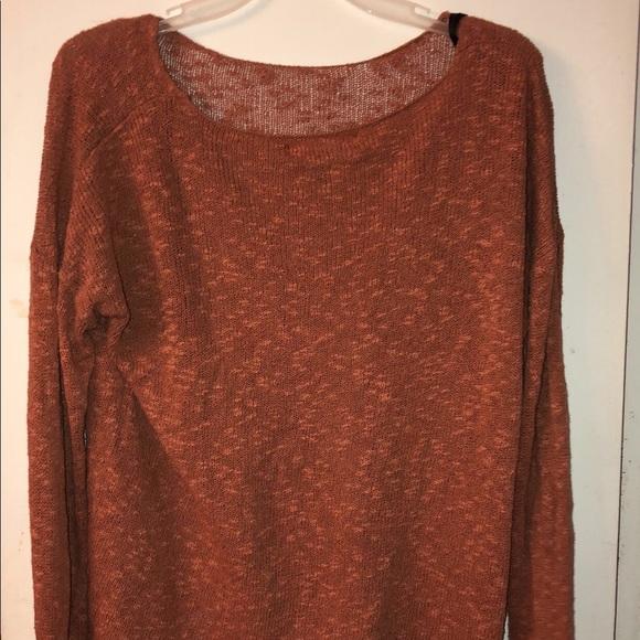 Forever 21 Sweaters - Orange Sweater